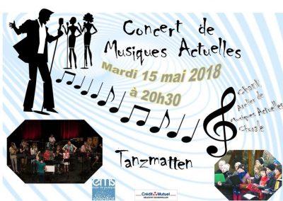 Concert de Musiques Actuelles