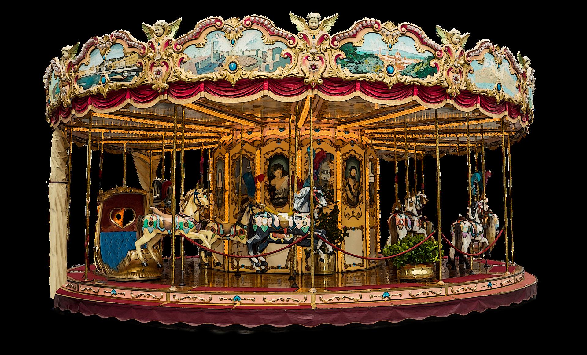 Carrousel musical - Illustration
