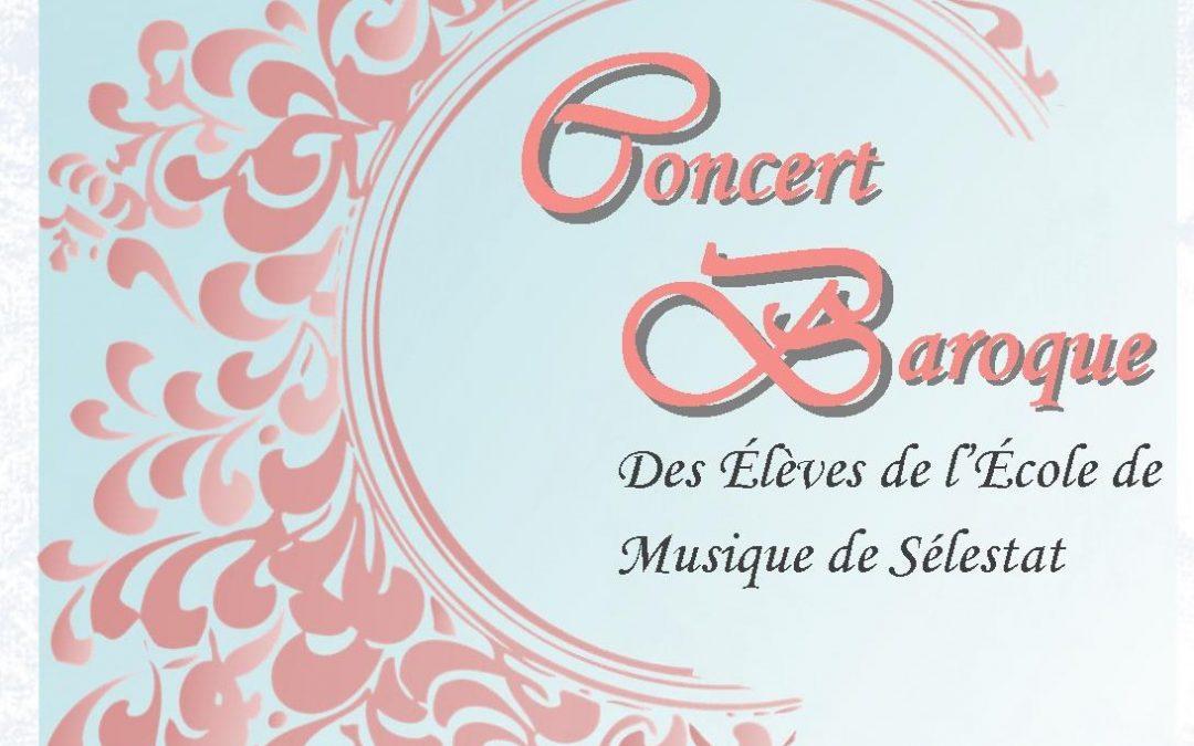 Concert Baroque des élèves – Annulé